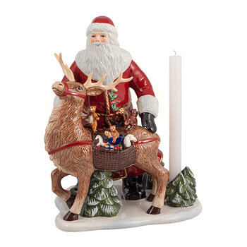 Christmas Toy's Memory Santa With Deer Ornament