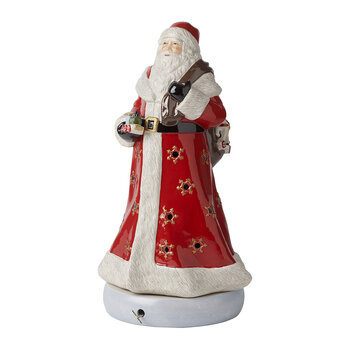 Christmas Toy's Memory Santa Music Box Ornament