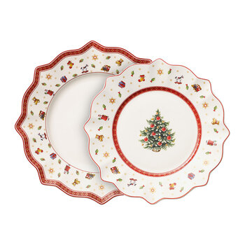 Toy's Delight Plate Set - 8 Pieces
