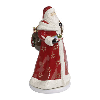 Christmas Toy's Memory Santa Turning Ornament