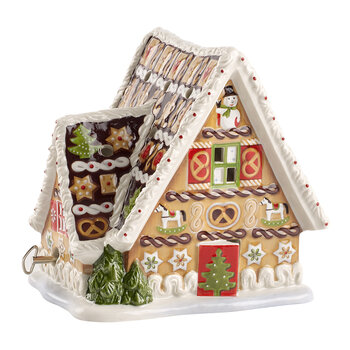 Christmas Toy's Ginger Bread House with Musical Clock