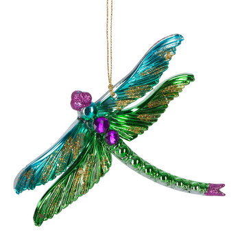 Butterfly & Dragonfly Tree Decoration - Set of 4