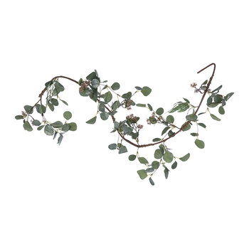 Artificial Eucalyptus Garland With Berries