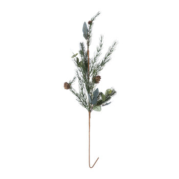 Rustic Pinecone Branch