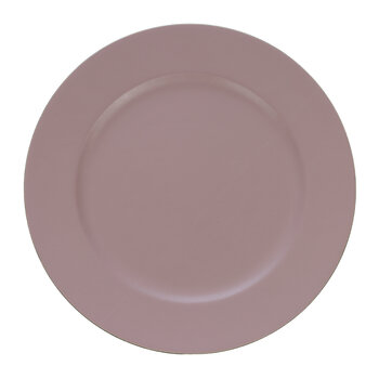 Decorative Leather Plate - Pink
