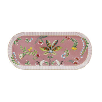 Majorelle Cake Tray - Pink