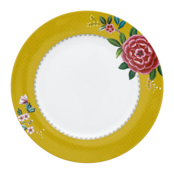 Blushing Birds Plate - Yellow - 26.5cm
