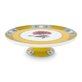 Blushing Birds Mini Cake Stand - Yellow