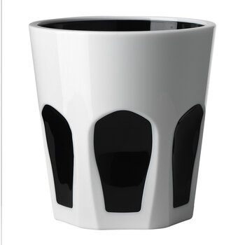 Smalto Acrylic Tumbler - White/Black