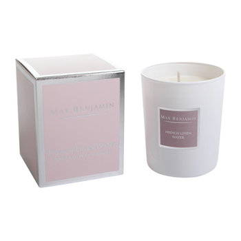 Scented Candle - 190g - French Linen Water