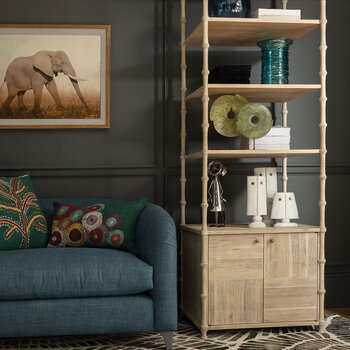 Bywater Etagere - Washed Acacia
