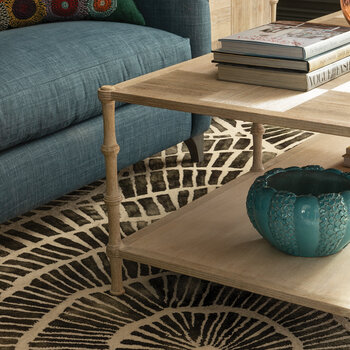 Bywater Coffee Table - Washed Acacia