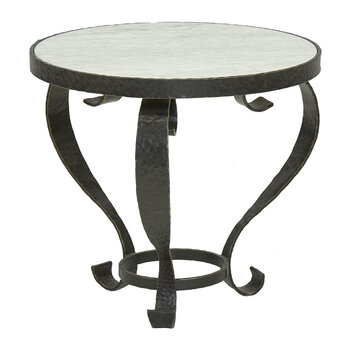 Cordoba Cocktail Table with Marble Top - Bronze