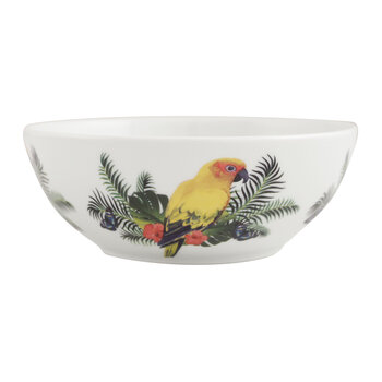 Tropical Bowl - Yellow Parrot