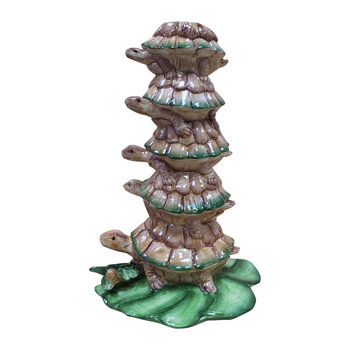 Turtle Stack Candle Holder