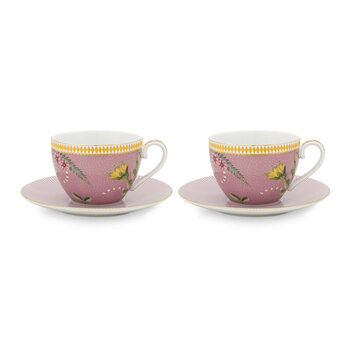 Majorelle Cup and Saucer - Set of 2