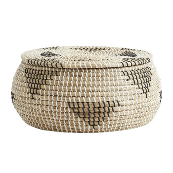Rosea Basket - Natural/Black