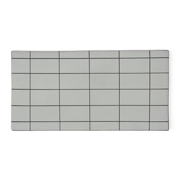 Square Suki Board - Mint/Gray