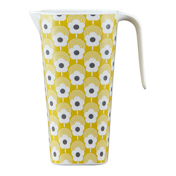 Lollipop Flower Bamboo Pitcher - Corn