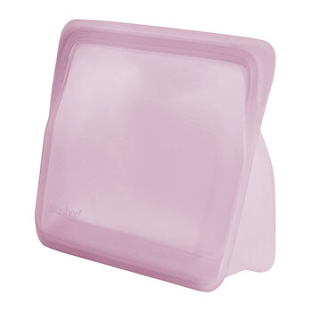 Silicone Reusable Stand Up Bag - Rose