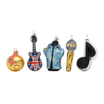 Little Rockstar Tree Decoration Set