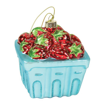 Strawberry Basket Tree Decoration