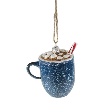 Campfire Cocoa Mug Tree Decoration
