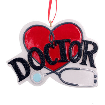 Thank You Doctor Tree Decoration