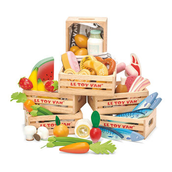 Market Meat Crate Wooden Toys