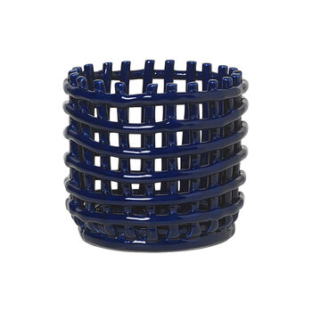 Ceramic Basket - Blue