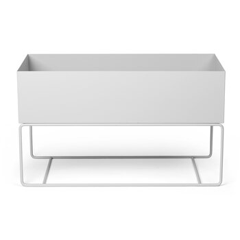 Plant Box - Large - Light Gray