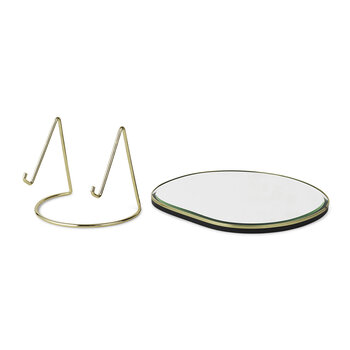 Pond Table Mirror - Brass