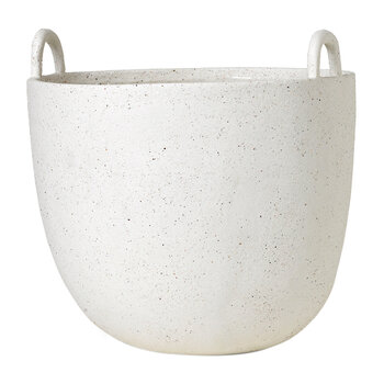Speckle Pot - Off-White - Large