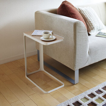 Frame Side Table - White