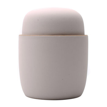 Lidded Ceramic Candle