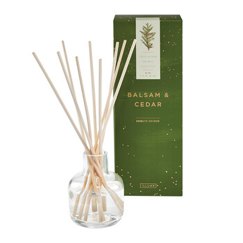 Christmas Scented Diffuser - 90ml - Balsam & Cedar