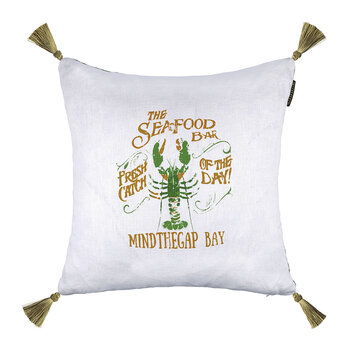 Seafood Bar Cushion - 50x50cm