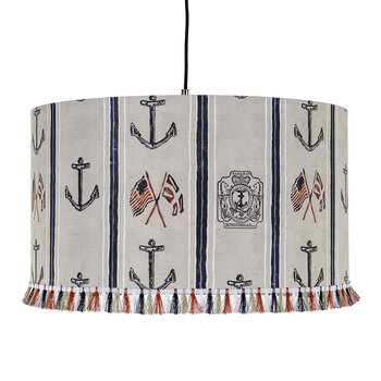 Buccaneers Of Bahamas Drum Ceiling Light