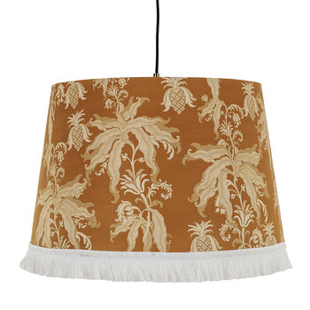 Guineo Cone Ceiling Light - Orange