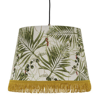 Tropical Garden Cone Ceiling Light - Large