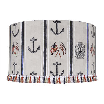 Buccaneers of Bahamas Drum Lamp Shade