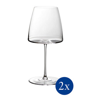 Metro Chic Red Wine Goblet - Set of 2