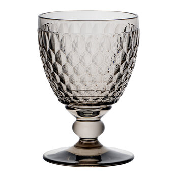 Boston Coloured Red Wine Goblet - Smoke