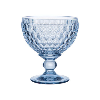 Boston Colored Champagne Bowl - Blue
