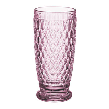 Boston Colored Highball Tumbler - Rose