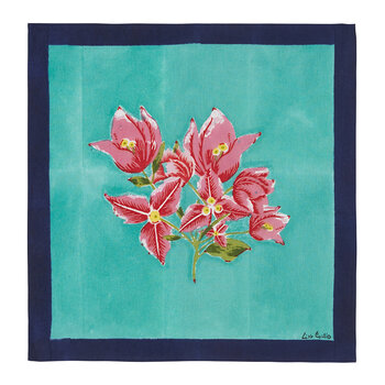Bougainvillea Stripes Napkin