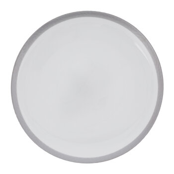 Grande Assiette Glam - Lot de 4 - Platine