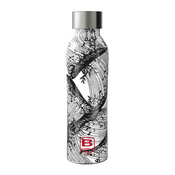 Twin Pattern Water Bottle - 500ml - Fauna Marina