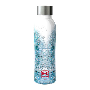 Twin Pattern Water Bottle - 500ml - Aqua Element