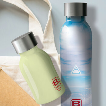Twin Pattern Water Bottle - 500ml - Aria Element